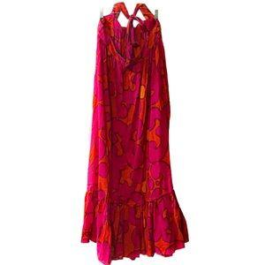 H&M Marimekko Tribute Halter Maxi Dress